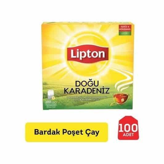 Lipton Doğu Karadeniz 100'lü Eko Poşet Çay 200 gr