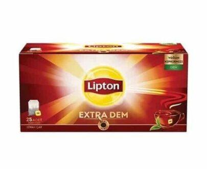 Lipton Extra Dem Bardak Poşet 25'li 52.5 gr