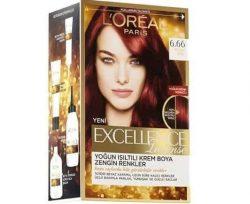 Loreal Excellence Intense Saç Boyası Yoğun Kızıl 6.66
