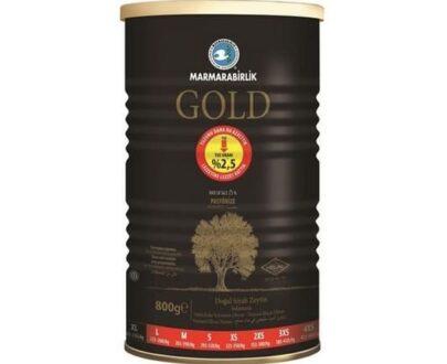 M.birlik Zeytin Tnk 800gr Gold %2 &5 Tuz(201-230)