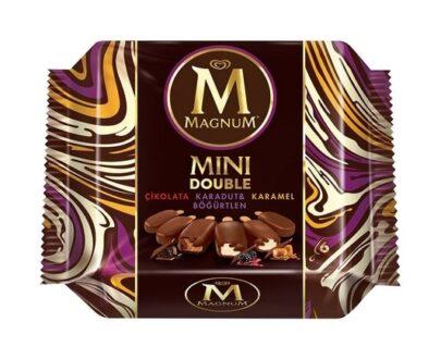magnum mini double karamel cikolata kara 7d52