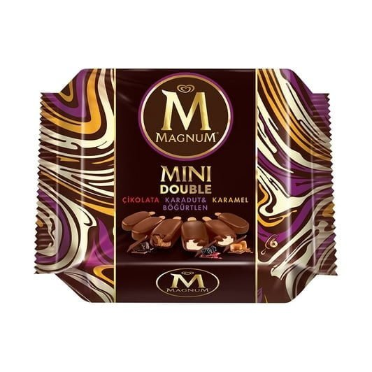 Magnum Mini Double Karamel Çikolata Karadut Böğürtlen 360 ml
