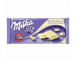Milka Beyaz Çikolata 80 gr