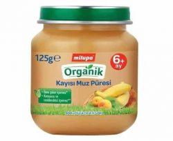 Milupa Organik Kayısı-Muz 125 gr