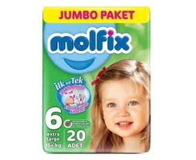 Molfix Jumbo Ekstra Large 20 li