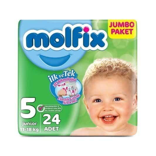 Molfix Jumbo Junior 24 lü