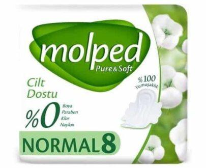 Molped Pure&Soft Tekli Normal 8'li