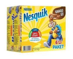 Nesquik Kakaolu Süt 6×180 ml