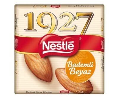 Nestle 1927 Beyaz Bademli Çikolata 65 Gr