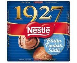 Nestle 1927 Kare Çikolata Bütün Fındıklı 76 gr