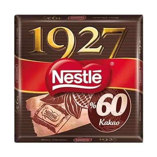 Nestle 1927 Kare Çikolata Kakaolu 65 gr