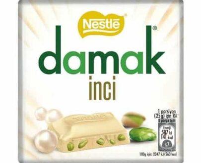 Nestle Damak İnci Kare Çikolata 65 gr