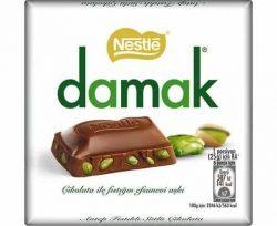 Nestle Damak Kare Çikolata 65 gr