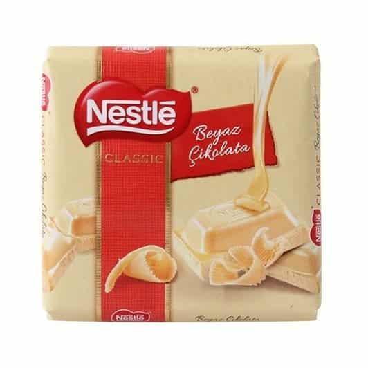 Nestle Kare Beyaz Çikolata 60 gr