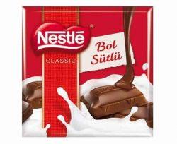 Nestle Kare Çikolata Sütlü 60 gr