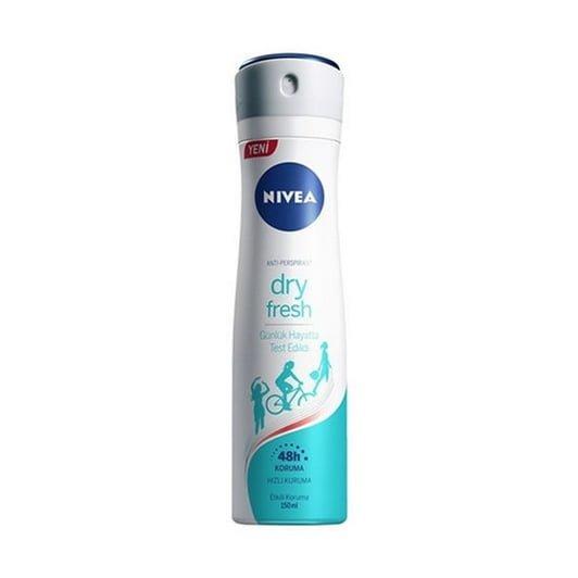 nivea deodorant bayan dry fresh ml