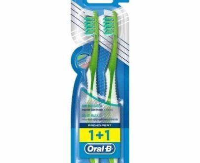 Oral-B Diş Fırçası Pro Expert Diş Eti Masajı 1+1