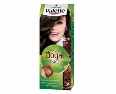 Palette Natural 5.0 Fındık Kahvesi Saç Boyası