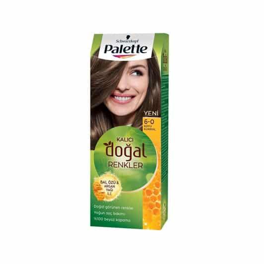 Palette Natural 6.0 Koyu Kumral Saç Boyası