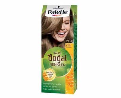 Palette Natural 7.0 Bal Saç Boyası