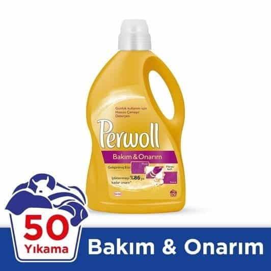 Perwoll Sıvı Deterjan Bakım&Onarım 50 Yıkama 3 lt