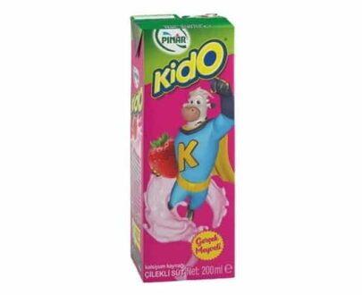 Pınar Kido Çilekli Süt 180 ml