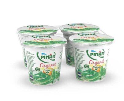 Pınar Organik Yoğurt 4X125 g