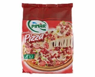 Pınar Pizza Eko 4'lü Paket 800 gr