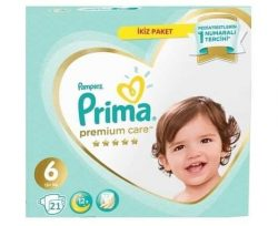 Prima Bebek Bezi Premium Care 6 Beden 21 Adet X Large Ekonomi Paketi