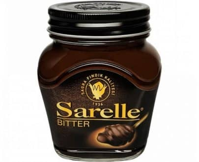 sarelle bitter cikolatali findik ezmesi c7c2