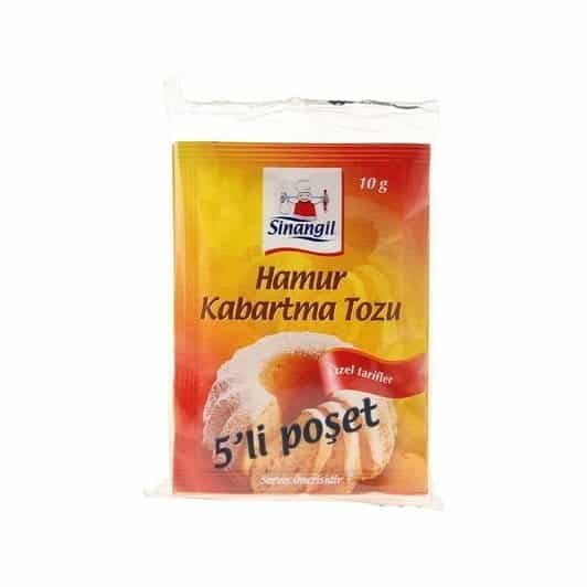 Sinangil Kabartma Tozu 5'li 50 gr