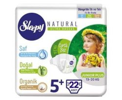 Sleepy Sensitive Junior Plus Bebek Bezi 22'li