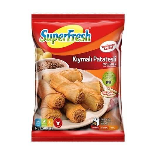 superfresh kiymali patatesli rulo borek f