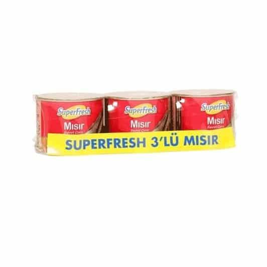 Superfresh Mısır 3×220 gr