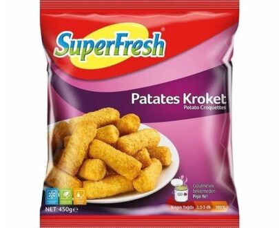 Superfresh Patates Kroket 450 gr