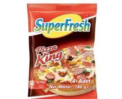 Superfresh Pizza King Ekonomik 4'lü 780 gr