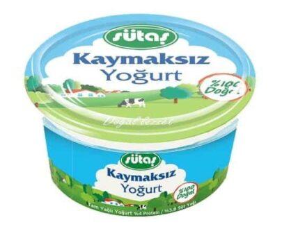 sutas kaymaksiz yogurt 1500 gr 3298