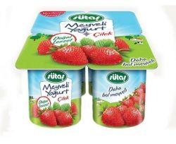 Sütaş Meyveli Yoğurt Çilek 4×115 gr