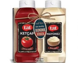 Tat İkili Set Ketçap Tatlı 650 gr+ Mayonez 560 gr