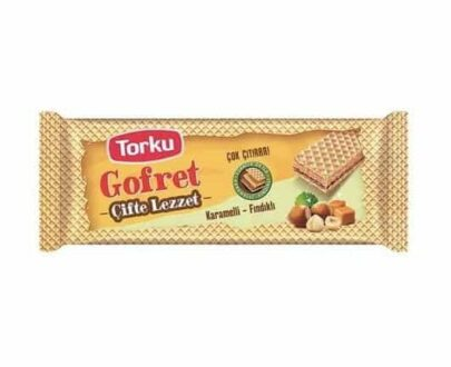 Torku Gofret Karamelli Fındıklı 142 gr