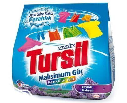 TURSIL TOZ DET. 1500 GR LEYLAK COLOR
