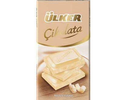 ulker cikolata tablet beyaz 80 gr 8c83