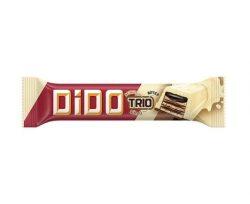 Ülker Dido Trio Beyaz Çikolatalı Gofret 36 &5 gr