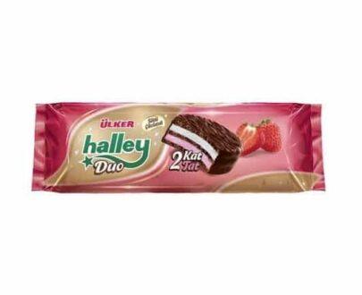 Ülker Halley Kakaolu Çilekli Double 225 gr