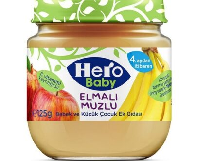 Ülker Hero Baby Kavanoz Mama Elma Muz 125 Gr