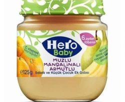 Ülker Hero Baby Kavanoz Mama Muz Mandalina Armut