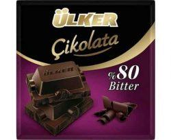 Ülker Kakao Bitter Kare Çikolata 60 gr