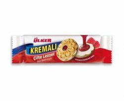 Ülker Kremalı Frambuaz Soslu Sandviç Bisküvi 165 gr