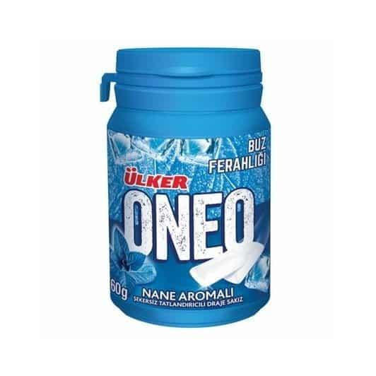Ülker Oneo Nane Aromalı Bottle Draje Sakız 60 gr
