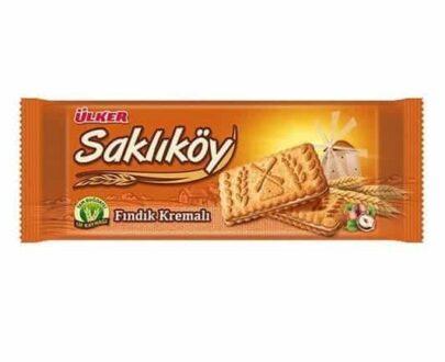 Ülker Saklıköy Fındık Kremalı Bisküvi 100 gr
